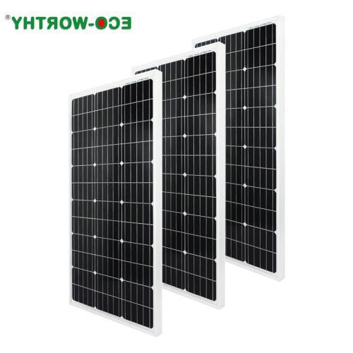100W 400W 600W 800W Solar 12/24V PV Power RV Home