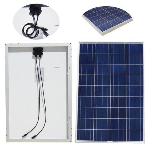 100W 200W 300W 400W Solar PV Power Marine Home