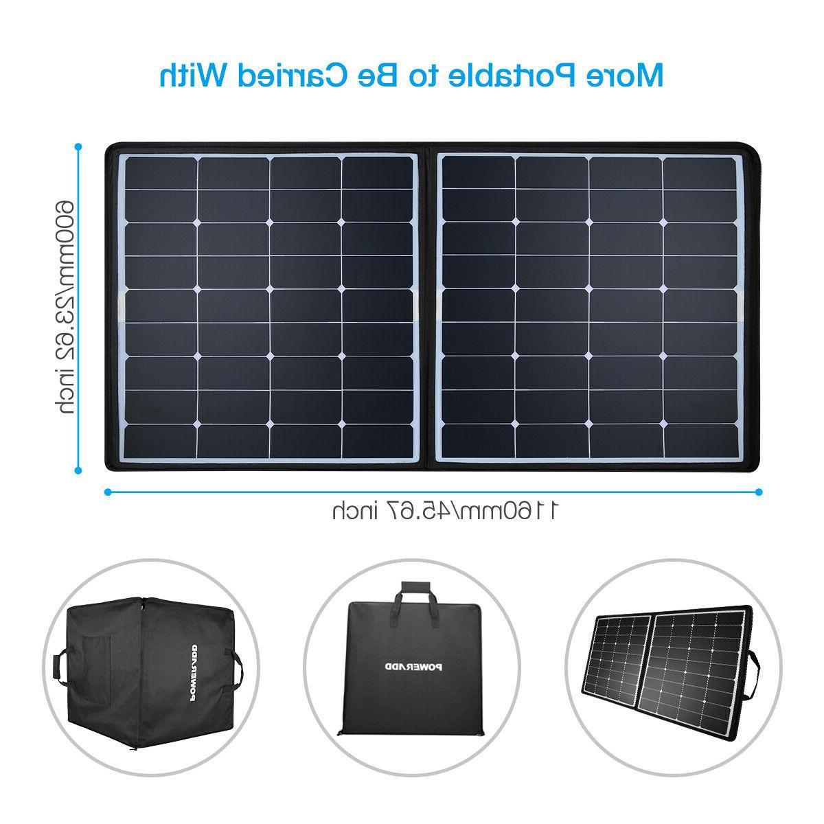 100W / Flexible Solar Panel Kits Boat RV 18V Charger