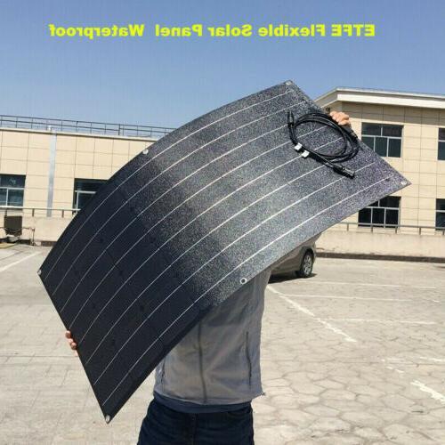 100W Flexible Panel 18V 12V Solar Charger for RV/Boat