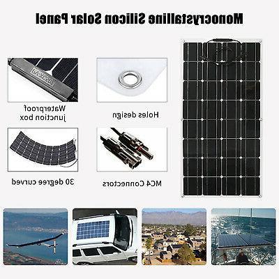 100W Panel Waterproof Battery for Boat