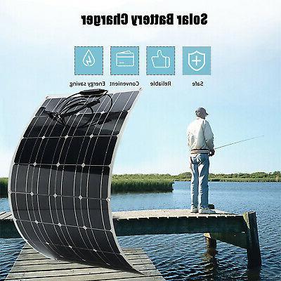 100W Solar Waterproof Battery for Boat Car