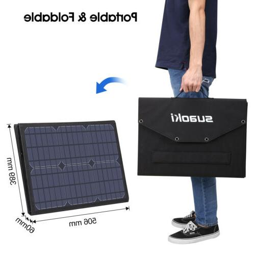 100W Foldable Panel Charger for Suaoki Generator