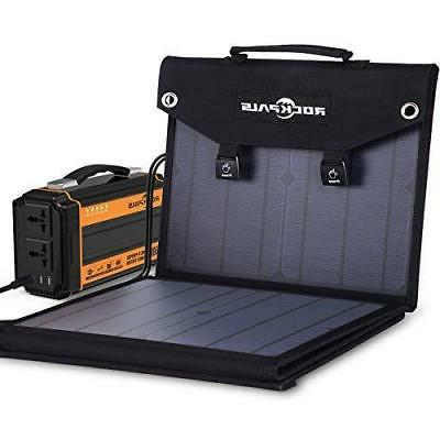 100W Panel Charger For Generator/ Solar