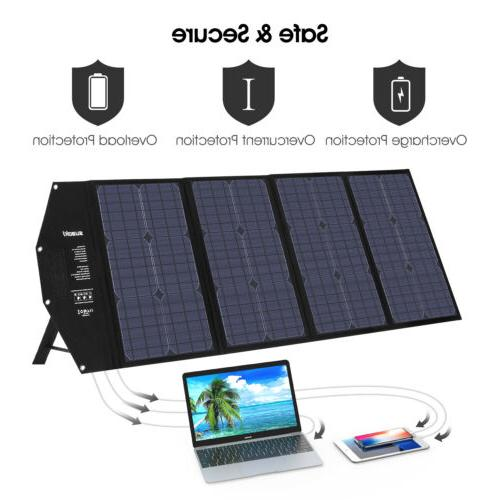 100W Solar Charger Generator Car Battery