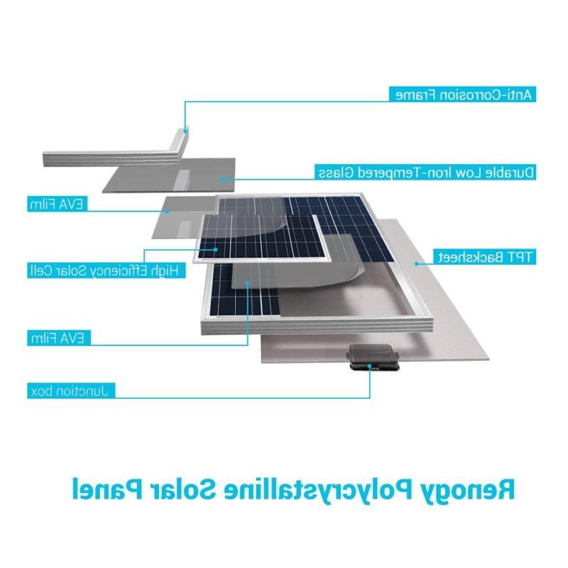 Renogy Photovoltaic PV Panel