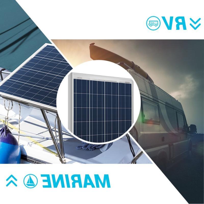 Renogy 100W Polycrystalline PV Solar Panel Module