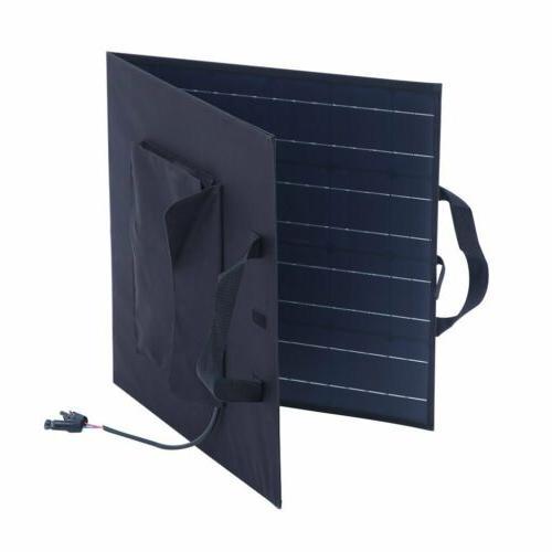 100W Portable Solar Suitcase Battery RV Caravan MA