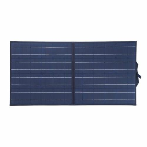 100W Solar Suitcase 12V Battery RV Camping