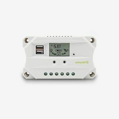 NewPowa 100W Solar Panel 12V Controller 6FT MC4