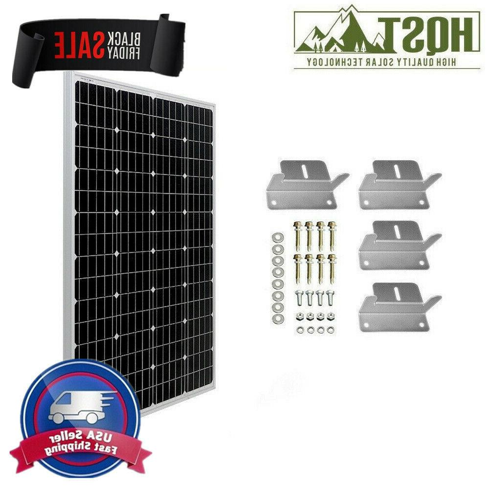 HQST 100W Volt Solar Panel Brackets RV