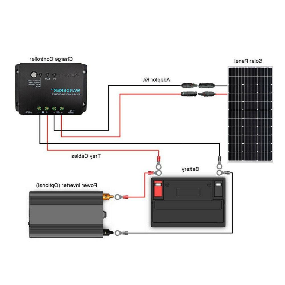 Renogy 100W Solar Kit w/ Charge