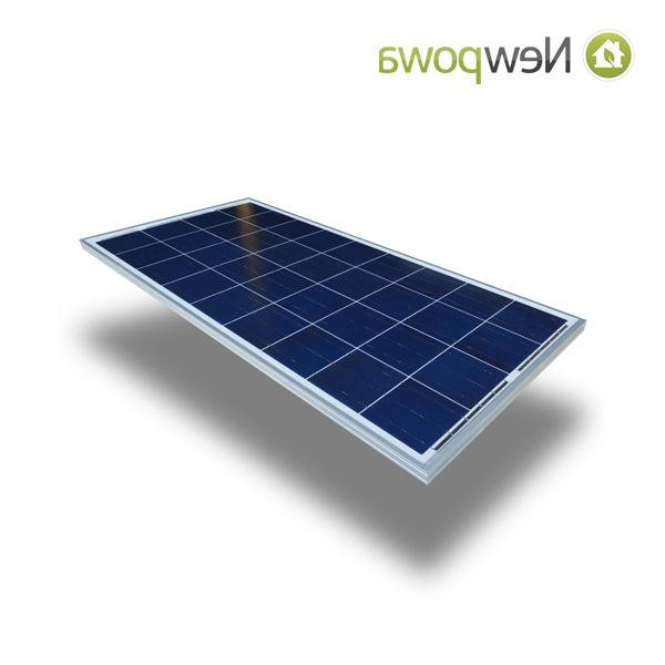 NewPowa 100W Watts Solar Panel 12V Off Battery RV