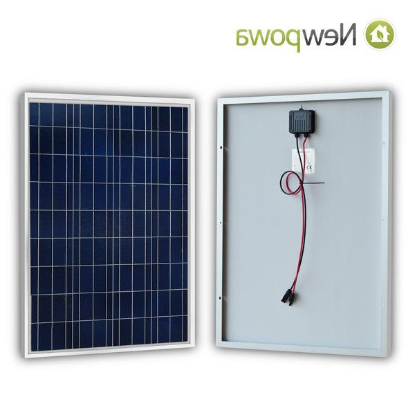 NewPowa Solar Panel 12V Volt Poly Off RV BOAT