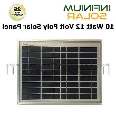 100W 12V Off Grid Battery Charging Lighting,