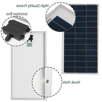 10W-150W Watt Solar Battery Charger Off Grid Boat
