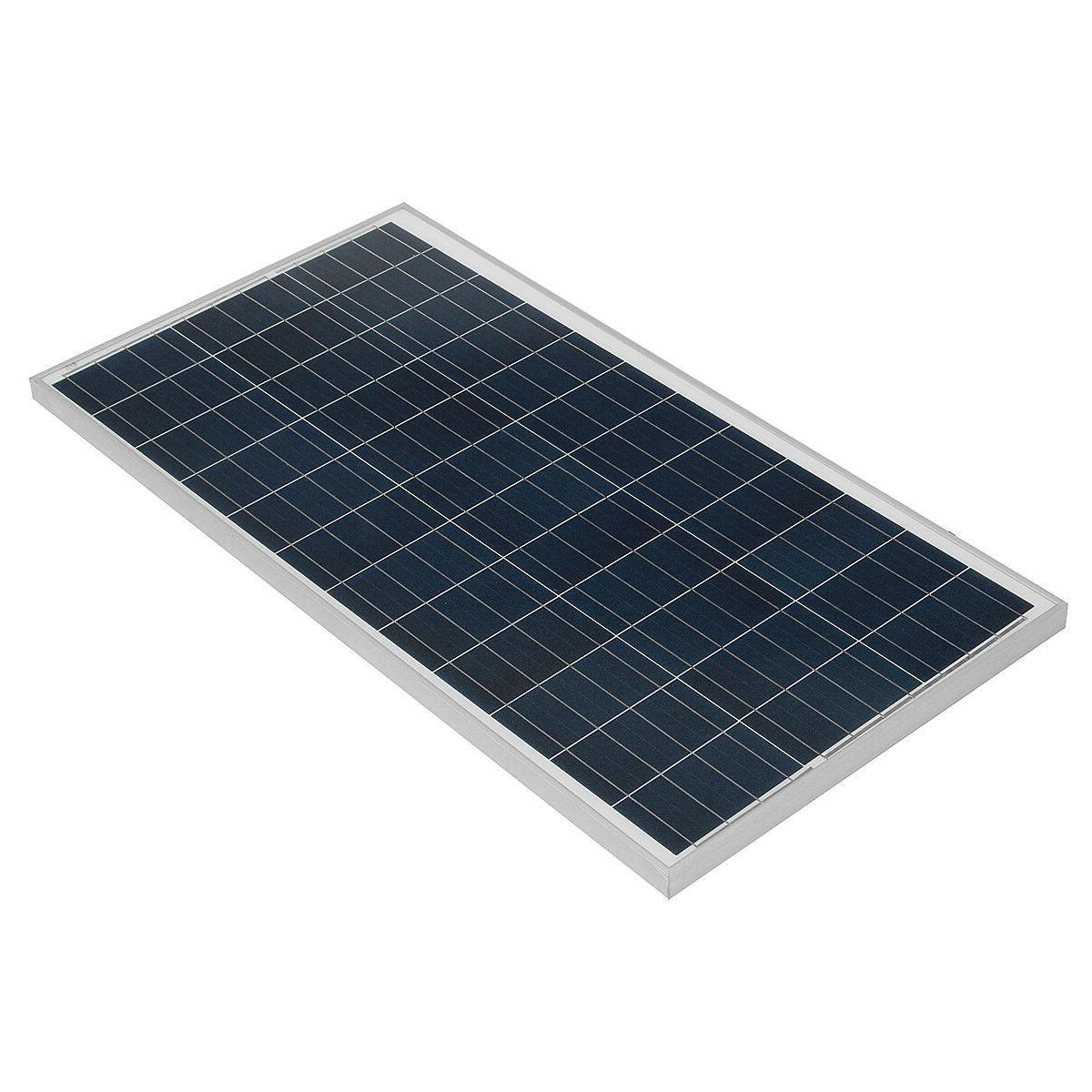 10W-150W Watt Mono/Poly Solar Battery Off Boat US