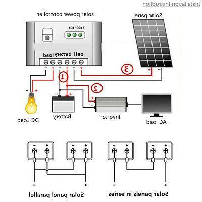 10W/20W/30W Semi Solar Controller+Cable