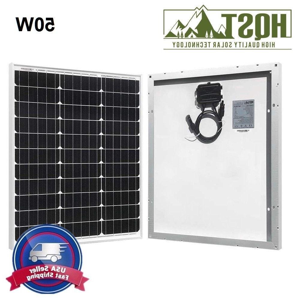 10W 20W 50W Watt 12V Volt Off Grid PV Camping