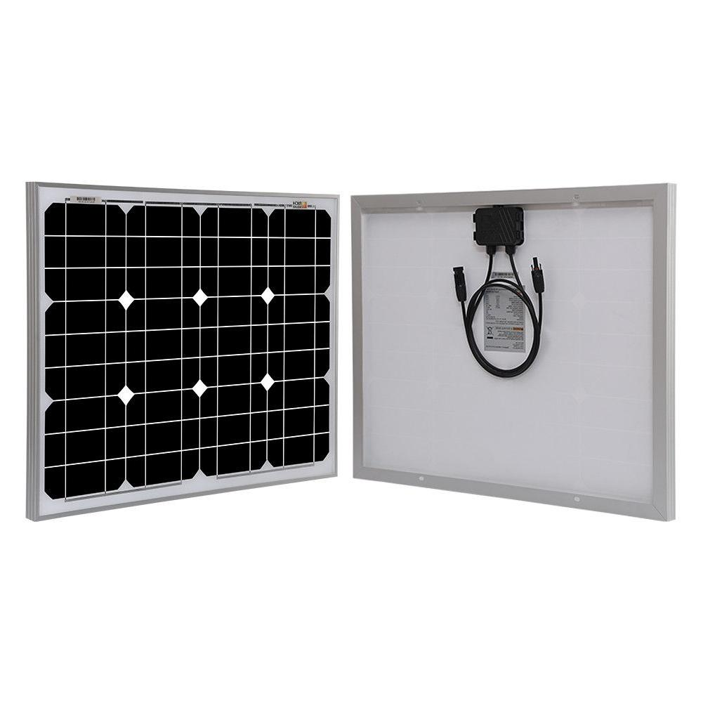 RICH SOLAR 20W 50W Panel 12V Battery Charger
