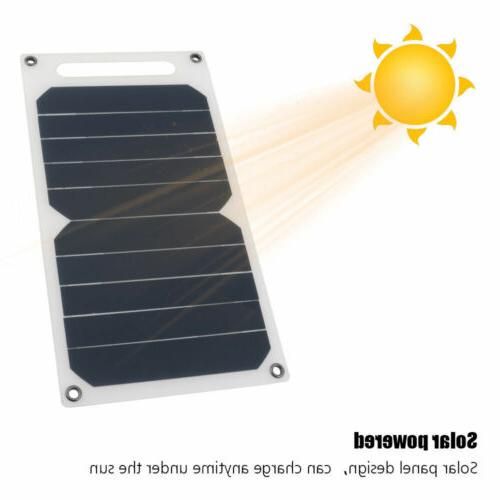 Solar USB Port Portable Solar Charger Waterproof