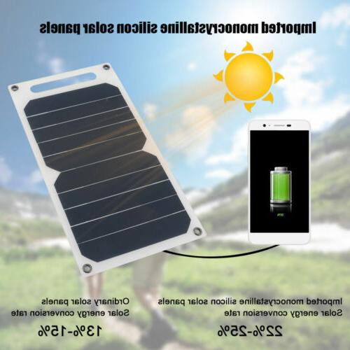 10W Ultra Solar USB Portable Charger Phone Waterproof