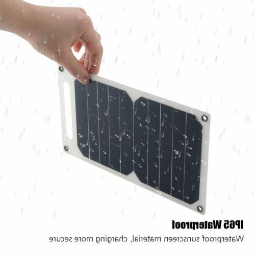 10W 5V Solar USB Port Portable Waterproof