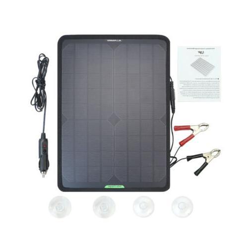 10w portable solar power panel 12v mono