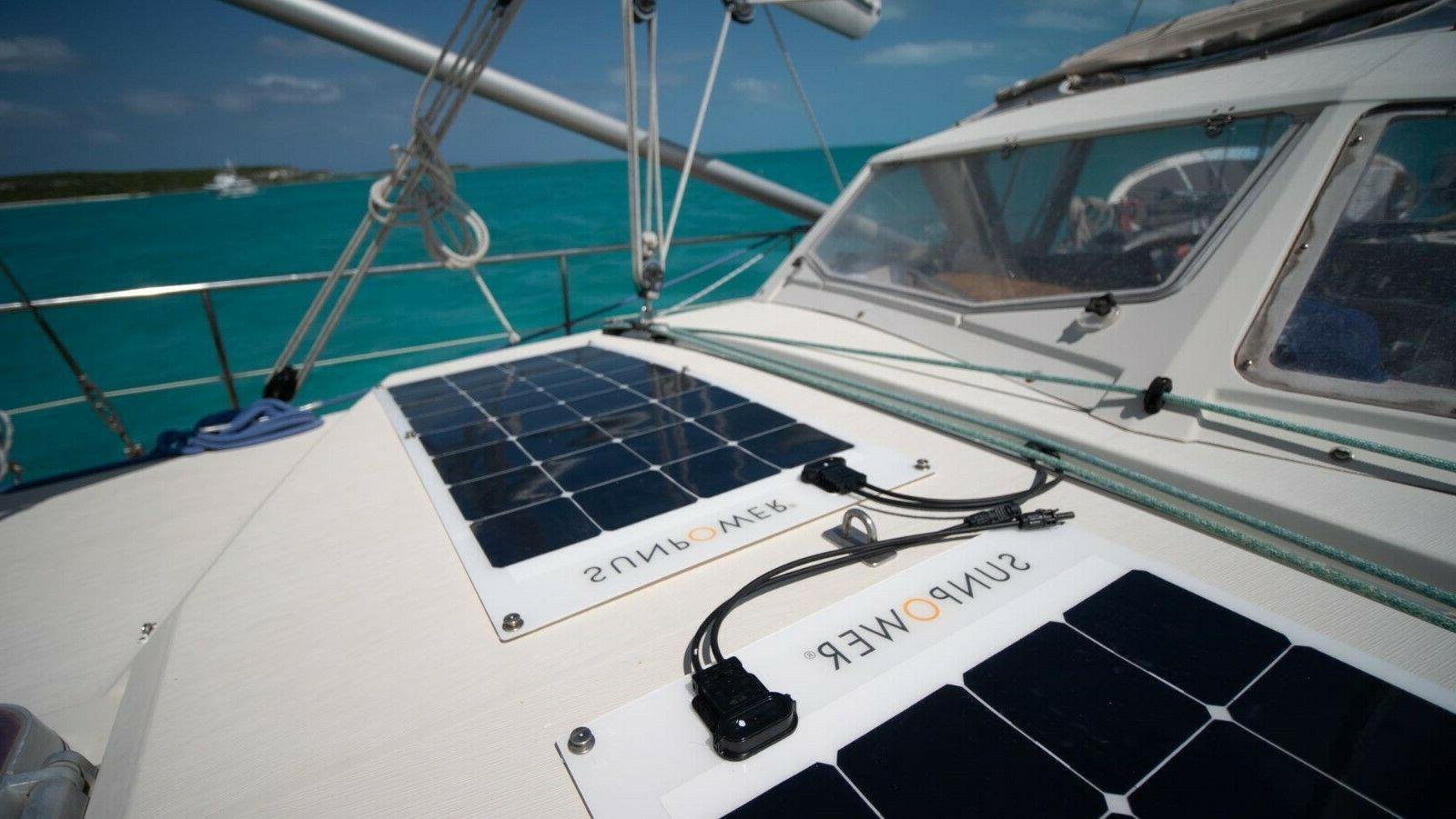 SunPower® 110 Watt Solar Efficiency for Marine,