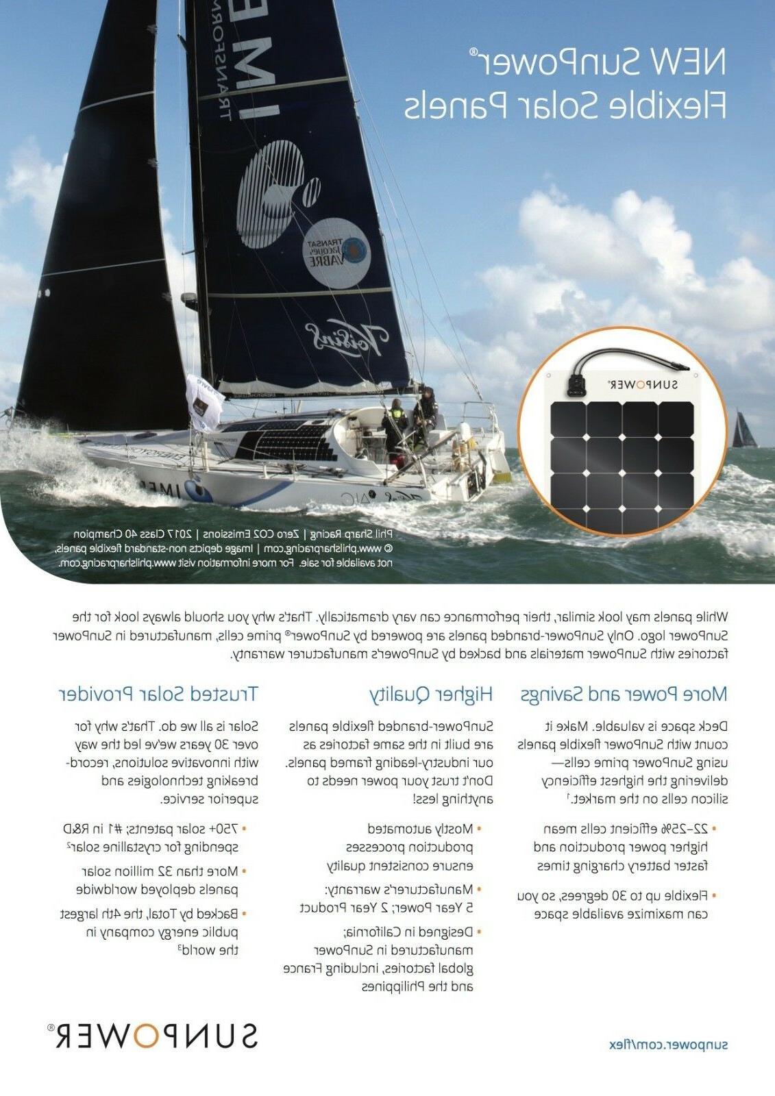 SunPower® Watt Solar Panel. for RV,