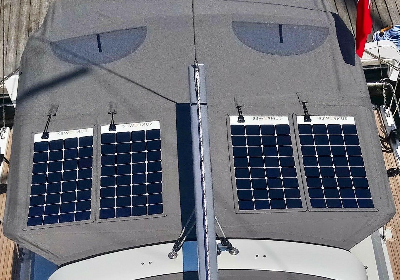 SunPower® 110 Flexible Solar High for Marine, Camping