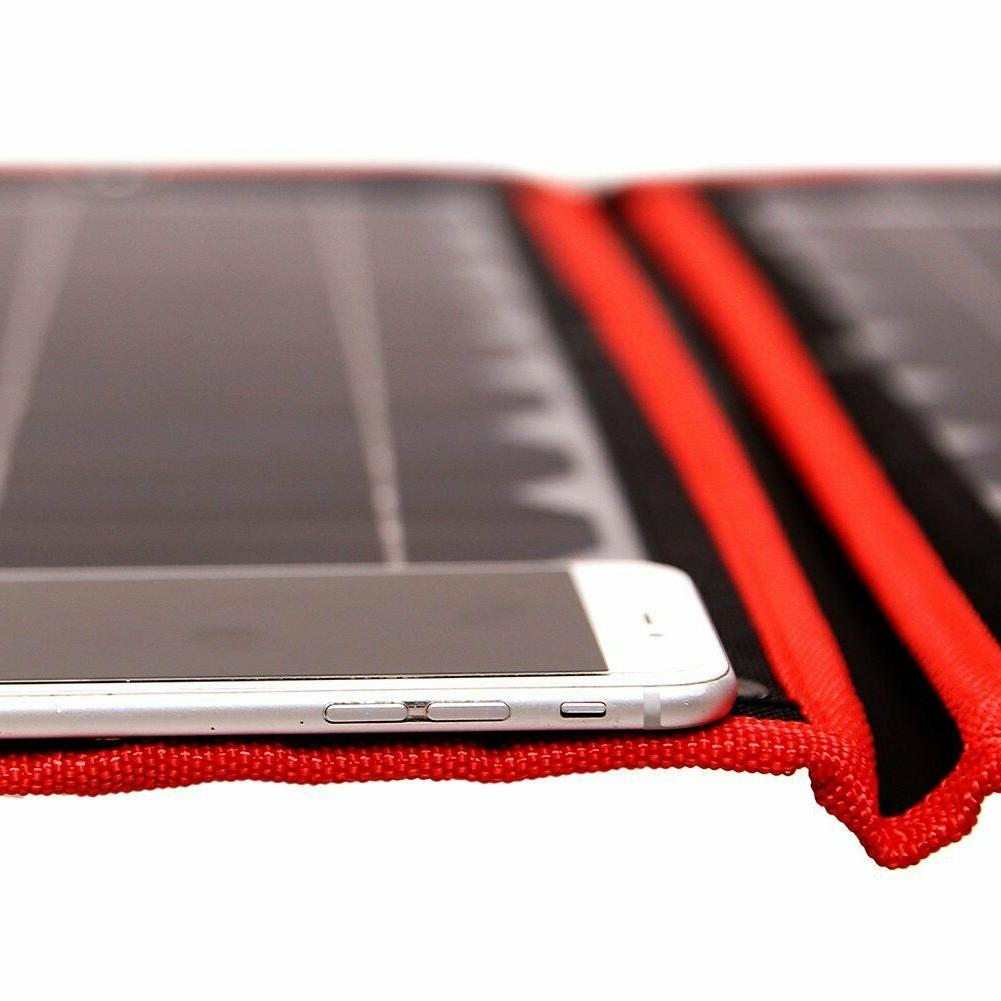 100W Portable Solar Panel + For Battery