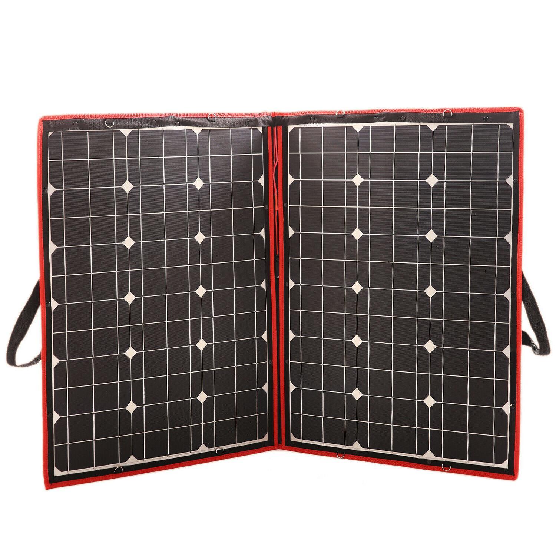 110W Flexible Panels Foldable Controller Car Battery