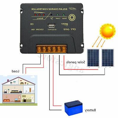 110W 18V Panel Module Battery Charger For RV Boat