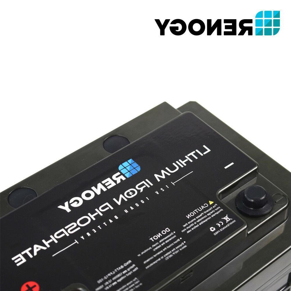 Renogy 12 Volt Lithium Deep Rechargeable
