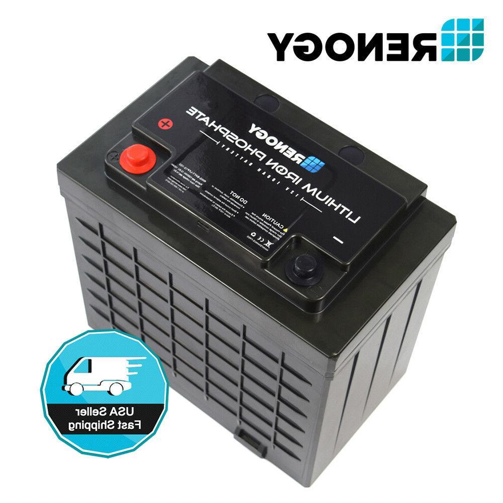 Renogy Volt Lithium Iron Battery Deep