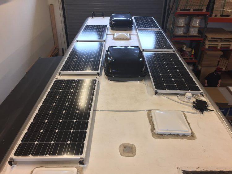 200+25% Watt Solar Panel Off 12V