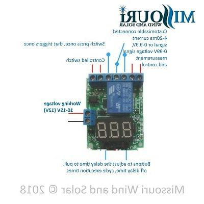 12 Volt Charge Controller Wind & Solar Panels