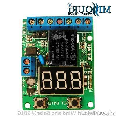 12 volt digital charge controller brain board