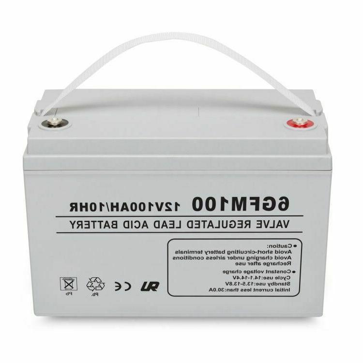 12V 100AH AGM SLA Deep Cycle Battery for Wind PV Solar Panel