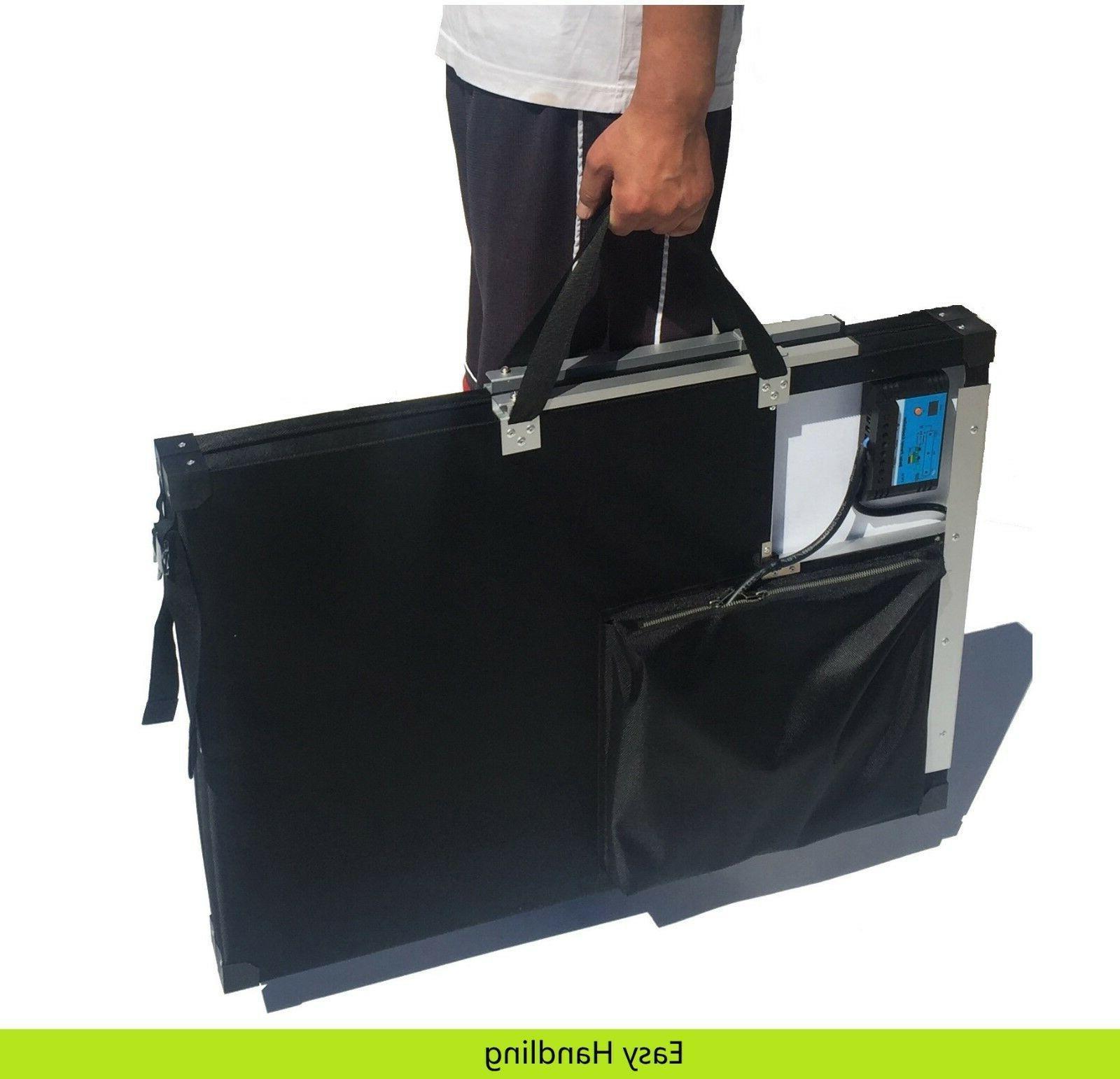 12V 120W panel Kit. Easy use. Lead & Lithium