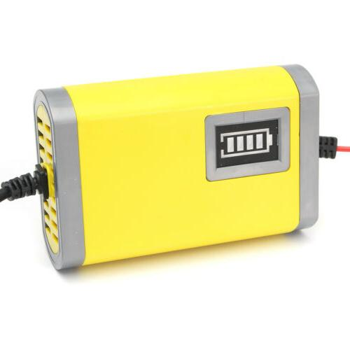 12V Car Smart Automatic Yellow Color