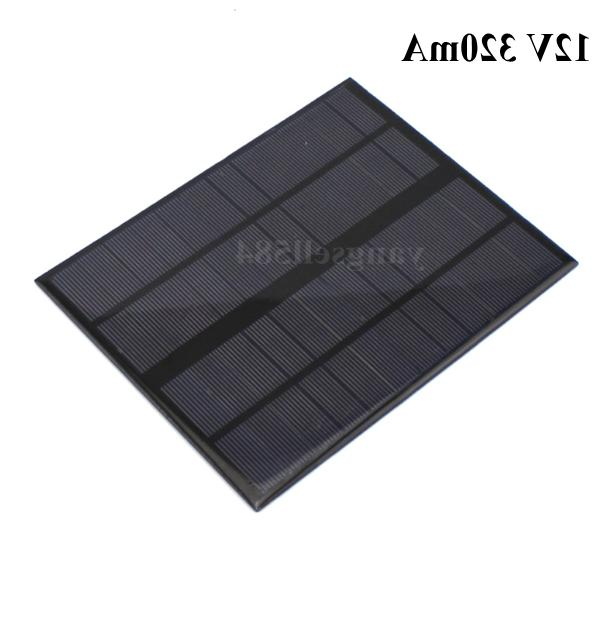 12V 320mA Photovoltaic Board Technology Model