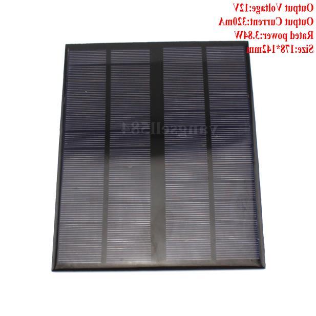 12V 320mA Photovoltaic Power DIY Battery Board Technology
