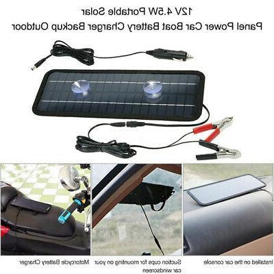 12V Motorcycle Panels Smart Car Charger Batteries