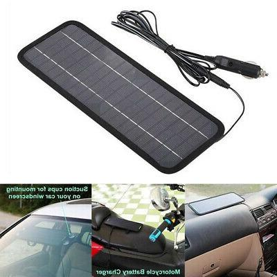 12V Panels Car Batteries Bank