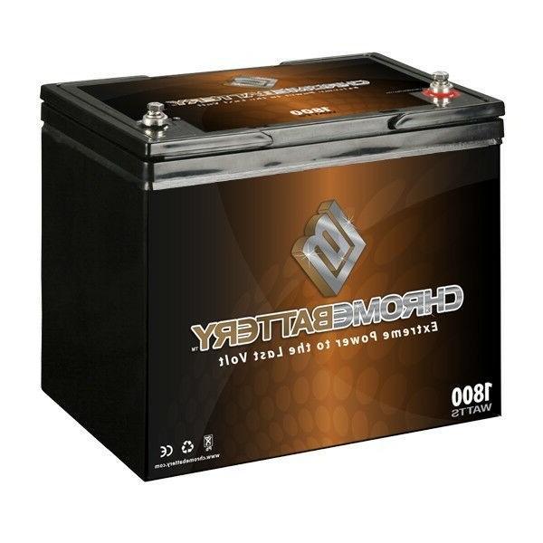 12V 14.8AH Sealed Lead Acid  Battery - T2 Terminals - for ZB