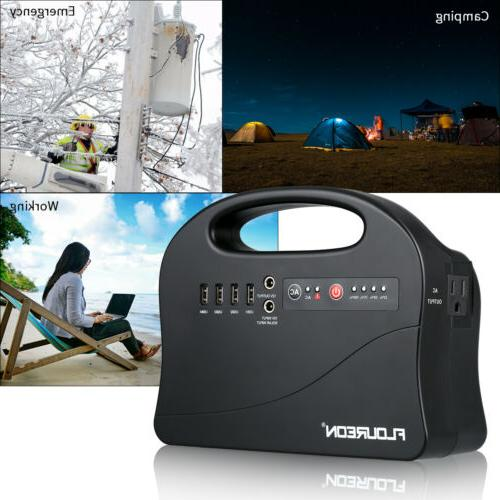 146Wh Portable Power Station Home Camping Emergency Power Ge