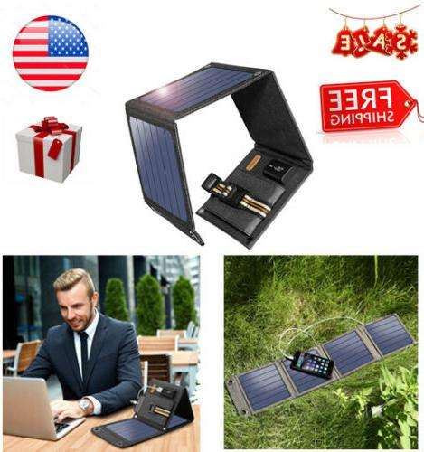 14w 5v 2a usb port solar charger