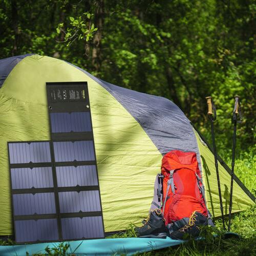 Suaoki 60W Solar Solar Battery Dual Port Bank HOT